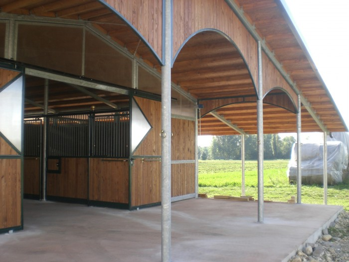Prefabricated and stables
